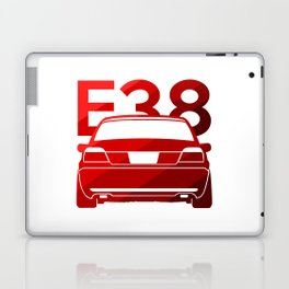 BMW E38 - classic red - Laptop & iPad Skin