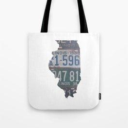 Vintage Illinois Tote Bag