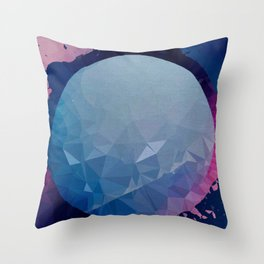 ambidextrous planet Throw Pillow
