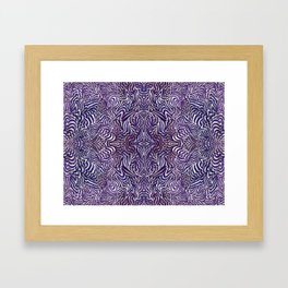 The Space In Between Lucy and Molly Framed Art Print