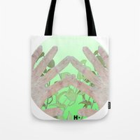 bag Tote Bags featuring Bag by Art Barf