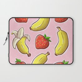 Strawberry and Banana Laptop Sleeve