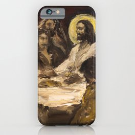 The Holy Supper (The Last Supper) iPhone Case