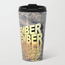 Remember November Travel Mug