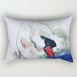 The swan Rectangular Pillow