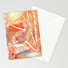 Beneath the Birch Stationery Cards