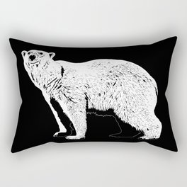 The Last Polar Bear Rectangular Pillow