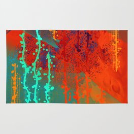 Abstract In Southwest Colors Rug