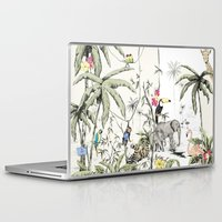 jungle Laptop & iPad Skins featuring Jungle by Annet Weelink Design