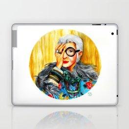 Iris Apfel.  Laptop & iPad Skin