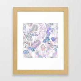 Tropical Iridescence- Pastels  Framed Art Print