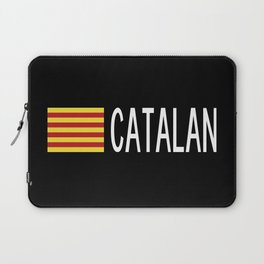 Catalunya: Catalan Flag & Catalan Laptop Sleeve