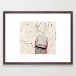 CD Illustration: Universo 2 Framed Art Print