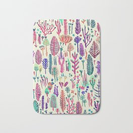 tropical poisen plants Bath Mat