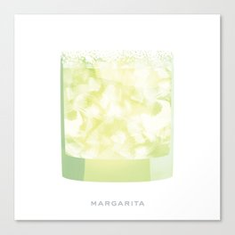 Cocktail Hour: Margarita Canvas Print