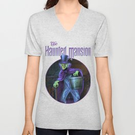 Hatbox Ghost-2 Unisex V-Neck