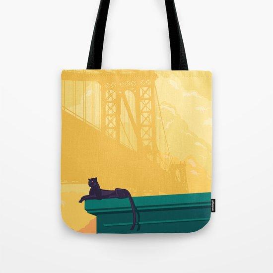 Urban jaguar Tote Bag