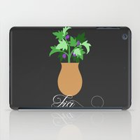 fig iPad Cases featuring fig by Little Lost Garden