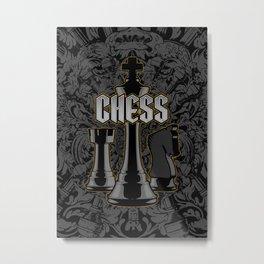 Chess Royalty Metal Print