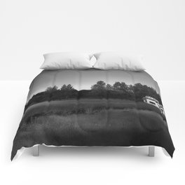 Just Black And White Comforters