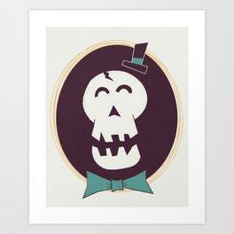 Fancy Bones Art Print