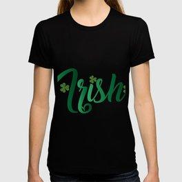 Irish ST Patrick's Day Shamrocks T-shirt