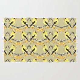 Yellow Finch Rug