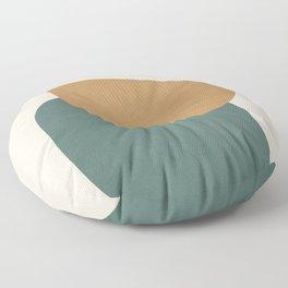 Abstract Minimal Shapes III Floor Pillow