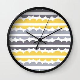 Mordidas Primrose Yellow Wall Clock