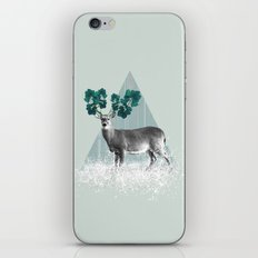 Deer, Stag, Forest Animal, Woodlands iPhone & iPod Skin