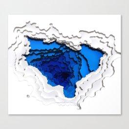 Water Portal I Canvas Print