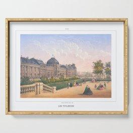 Les tuileries Paris France Serving Tray