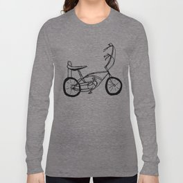 Schwinn Stingray Bicycle Long Sleeve T-shirt