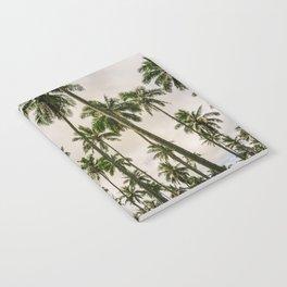 Palm Trees Kauai Hawaii Printable Wall Art | Tropical Beach Nature Ocean Coastal Travel Photography Print Notebook