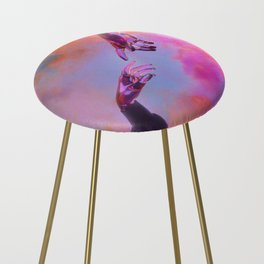 La Création d'Adam - Dorian Legret x AEFORIA Counter Stool
