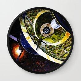 Cutaway View, Bernal Sphere Wall Clock