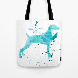 BLUE WATER WEIMARANER Tote Bag