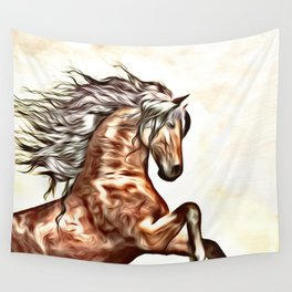Painted Horse 2 Wall Tapestry