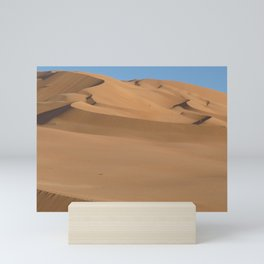 Sand Dunes Sahara Desert Landscape 02 Mini Art Print