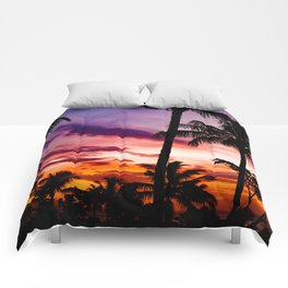 Fire In The Sky Comforters