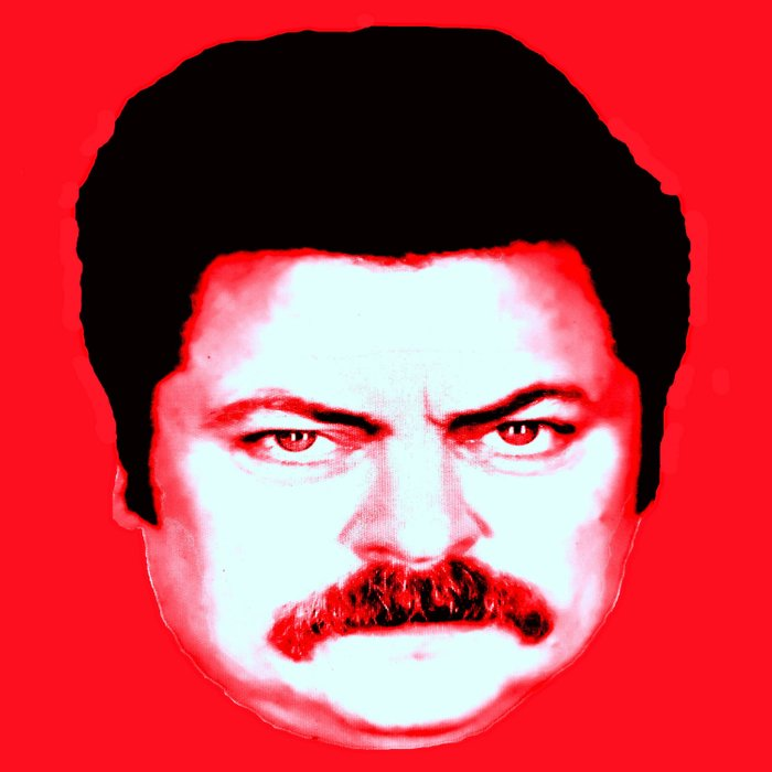 Ron Swanson No Duvet Cover By Silvioledbetter Society6