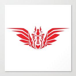 Pegasus (R/W) Canvas Print