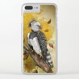 Harpy Eagle Clear iPhone Case