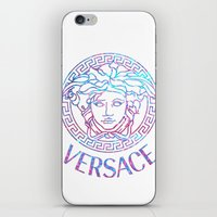 versace iPhone & iPod Skins featuring Versace always stuntin' by Goldflakes