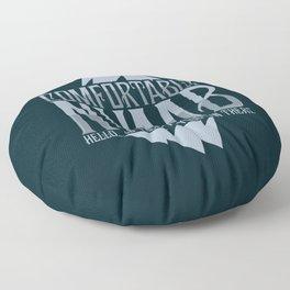 numb black Floor Pillow