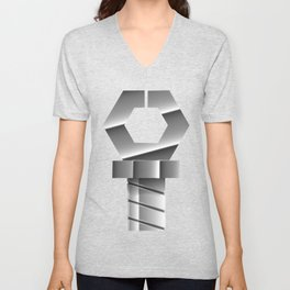 Snapping Claw - Sixth Generation Steel Unisex V-Neck