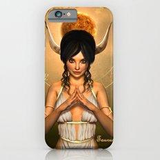 Taurus zodiac fantasy circle iPhone 6s Slim Case