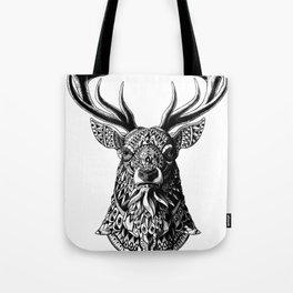Ornate Buck Tote Bag