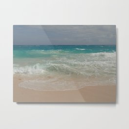 Beautiful Beach Bermuda 4 Metal Print
