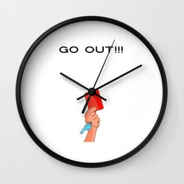 Go get it out of the ocean t shirt itsyourprint Wall Clock
